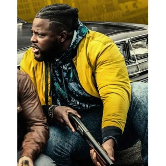 Hawk Bomber Jacket Spenser Confidential Yellow Jacket Films Jackets