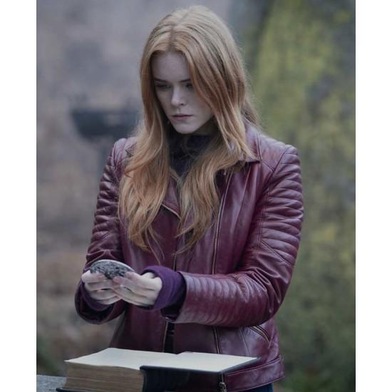 Fate The Winx Saga Abigail Cowen Leather Jacket