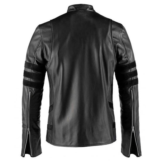Wolverine Black Leather Jacket