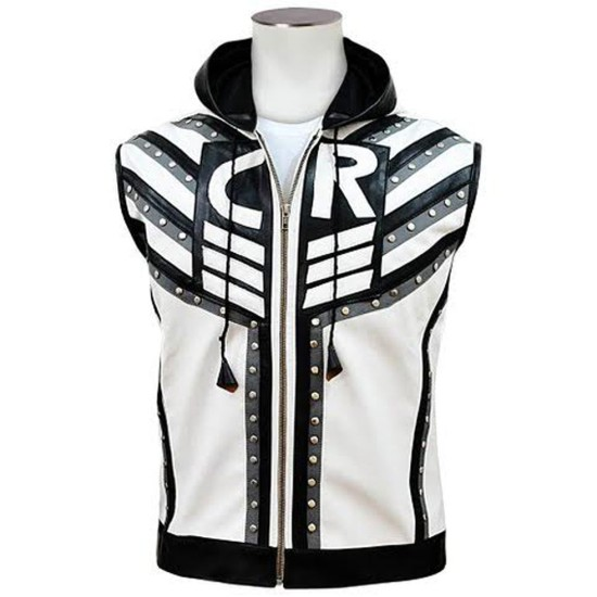 WWE Smackdown Cody Rhodes Vest with Hoodie