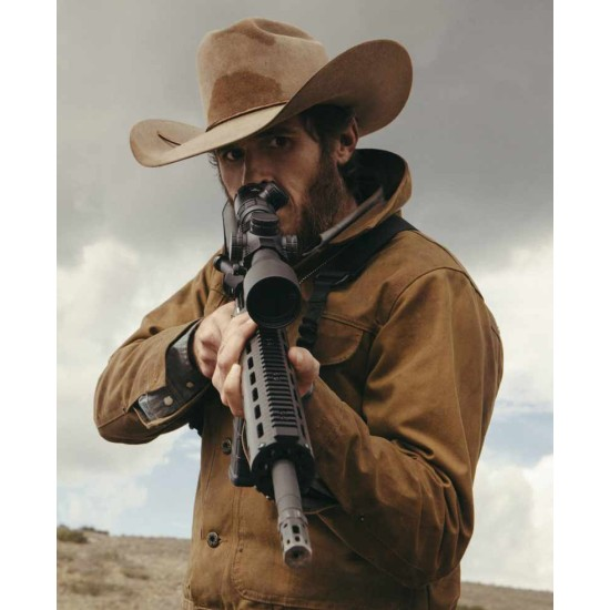 Dave Annable Yellowstone Brown Jacket