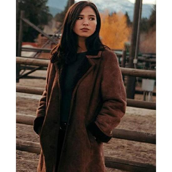 Yellowstone Monica Dutton Brown Coat