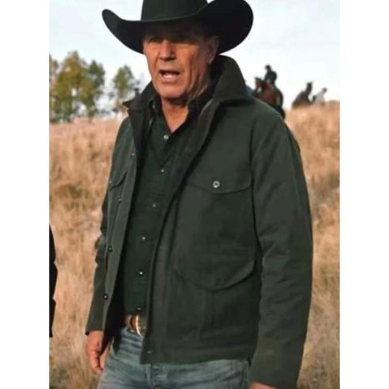 Yellowstone S02 Kevin Costner Grey Jacket