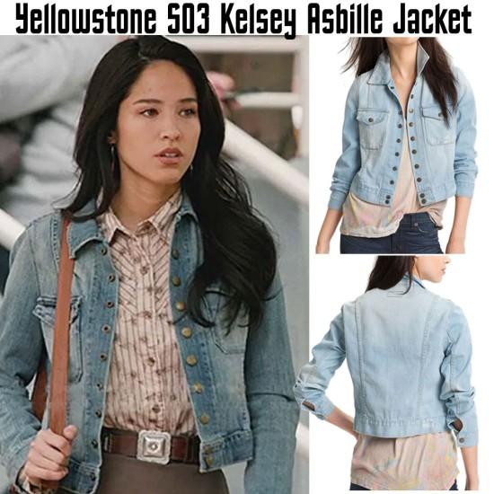 Kelsey Asbille Yellowstone Season 03 Jacket