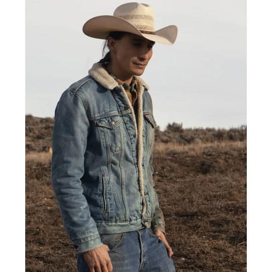 Yellowstone Tokala Black Elk Blue Jacket