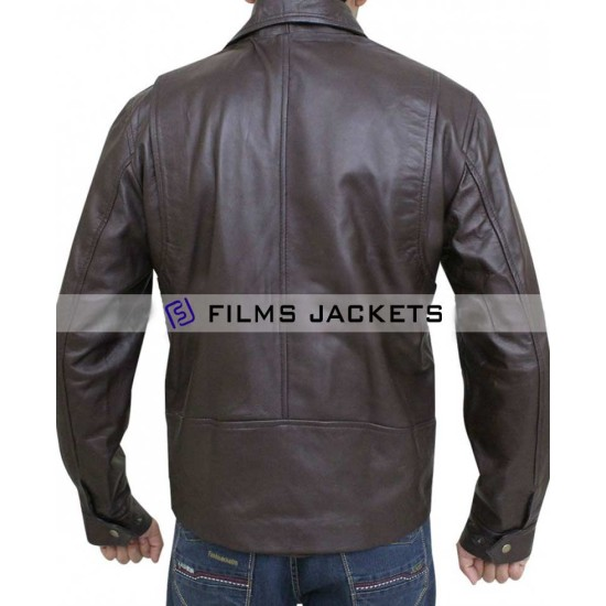 Ghost Rider Young Johnny Blaze Leather Jacket