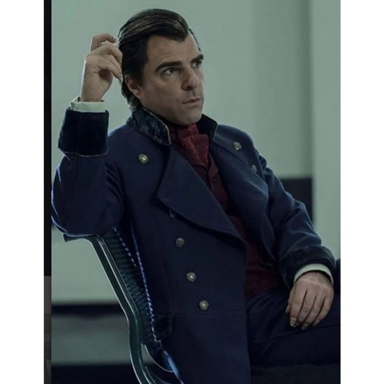 Zachary Quinto NOS4A2 Trench Coat