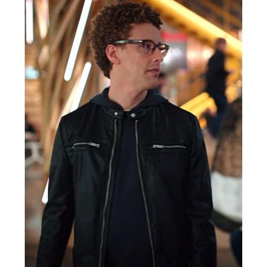 Danny Michael Davis Extraordinary Playlist Leather Jacket