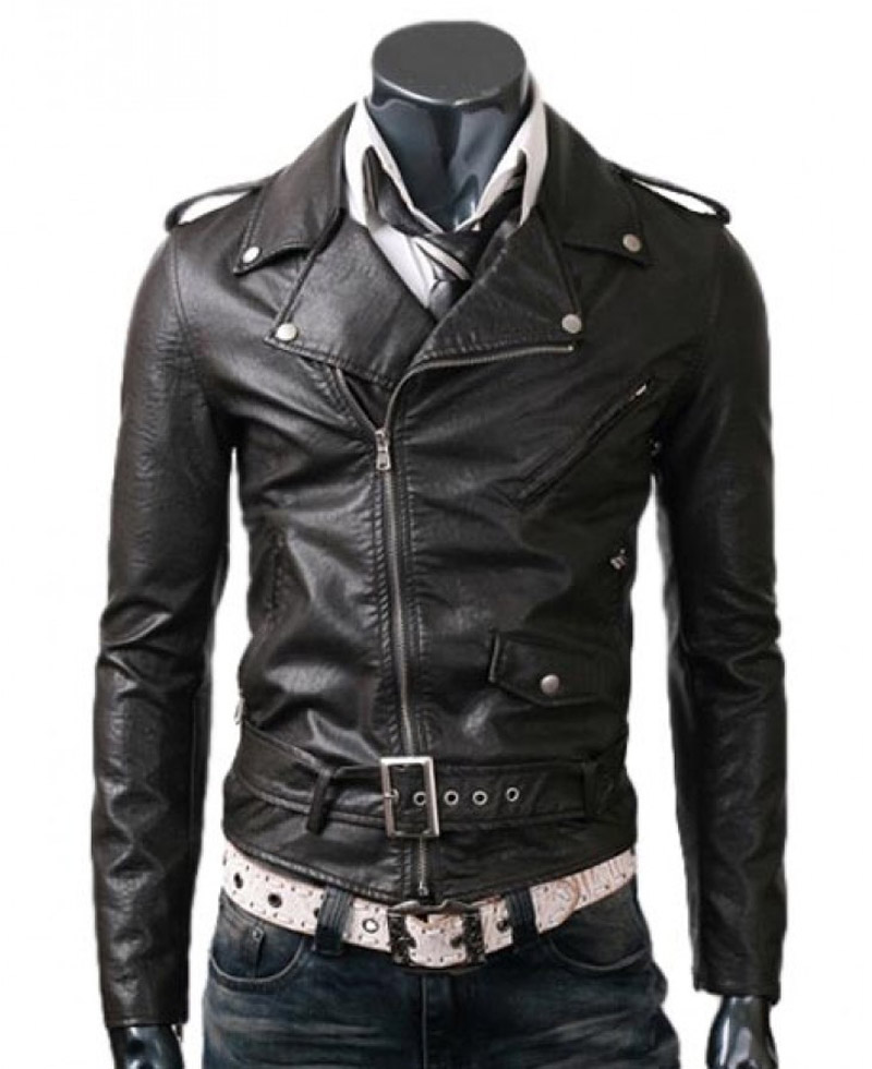 With fantastic quality and world class fabric, these slim fit leather Jackets for men will last longer than expected. Buy the best available slim fitting leather jackets for you and get on time delivery with free shipping guaranteed.