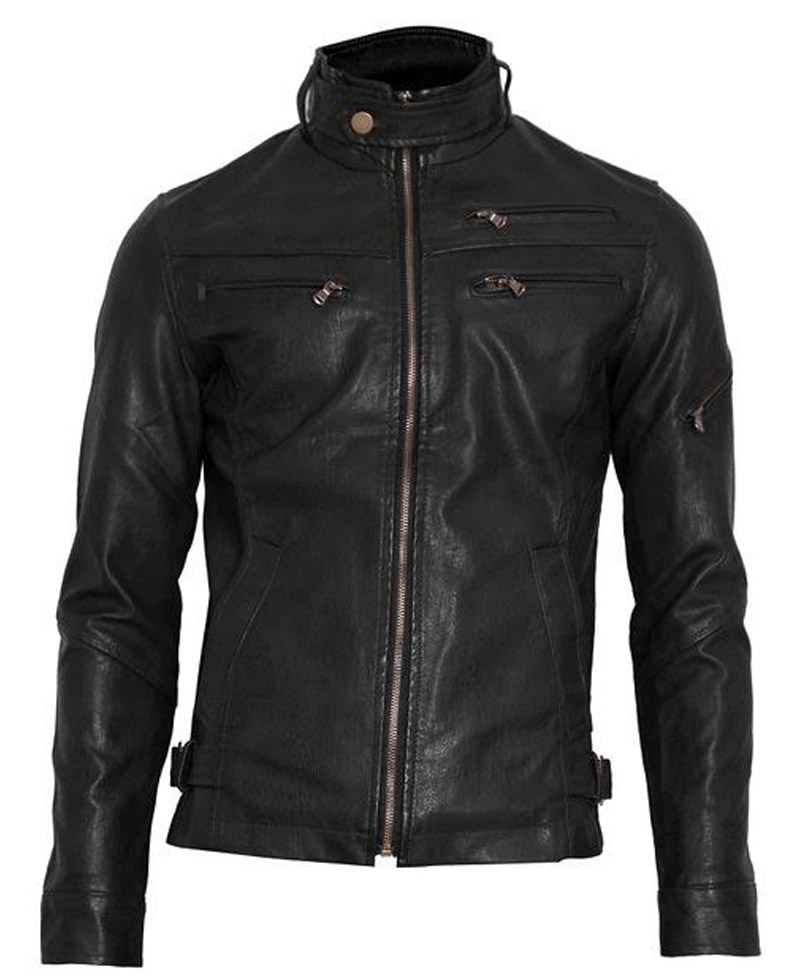 Women's Fashion Motorcycle Faux Leather Jacket PU Leather Short Coats $ 49 99 Prime. out of 5 stars 5. A&H Apparel. Full zip, V-neck, attached hoods, brown, black, buttoned necks; there are many designs and styles for you to choose from.