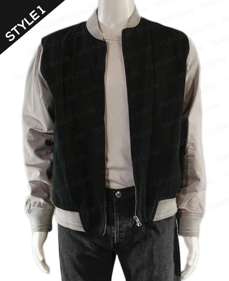 9ee01caca Ansel Elgort Varsity Bomber Baby Driver Jacket - Films Jackets