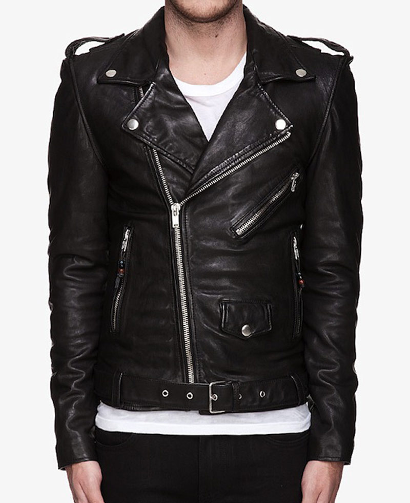 Probably the most popular style of leather jacket going, the biker style was pioneered by the American brand Schott. They were the first to invent the modern biker jacket, the Perfecto, that's just as, if not more, popular today as it was in the 's.