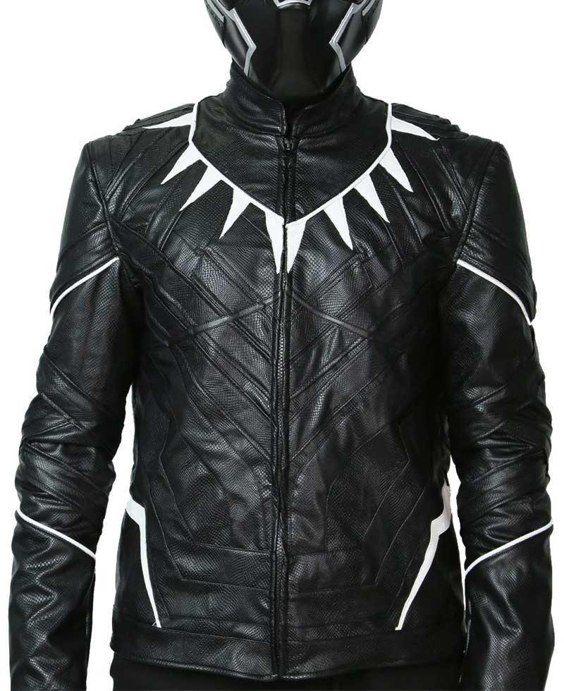 Leather Black Panther Jacket By Chadwick Boseman - FilmsJackets