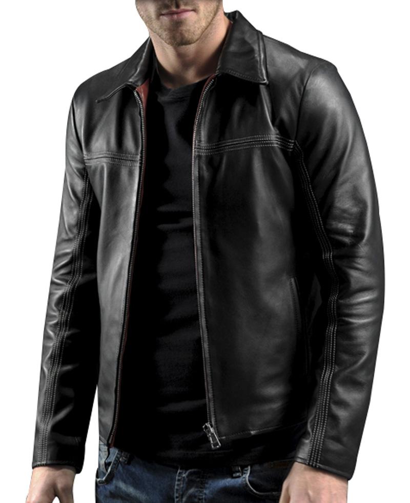 2e1f3af6f7b5 Daniel Craig Layer Cake Leather Jacket - FilmsJackets