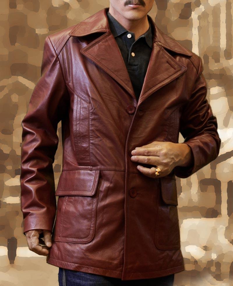 d41cb75d6fa Donnie Brasco Leather Jacket Worn by Johnny Depp - Films Jackets