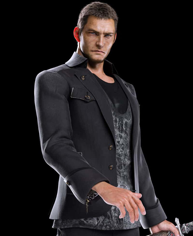 Cor Leonis Leather Jacket From Final Fantasy Xv Films
