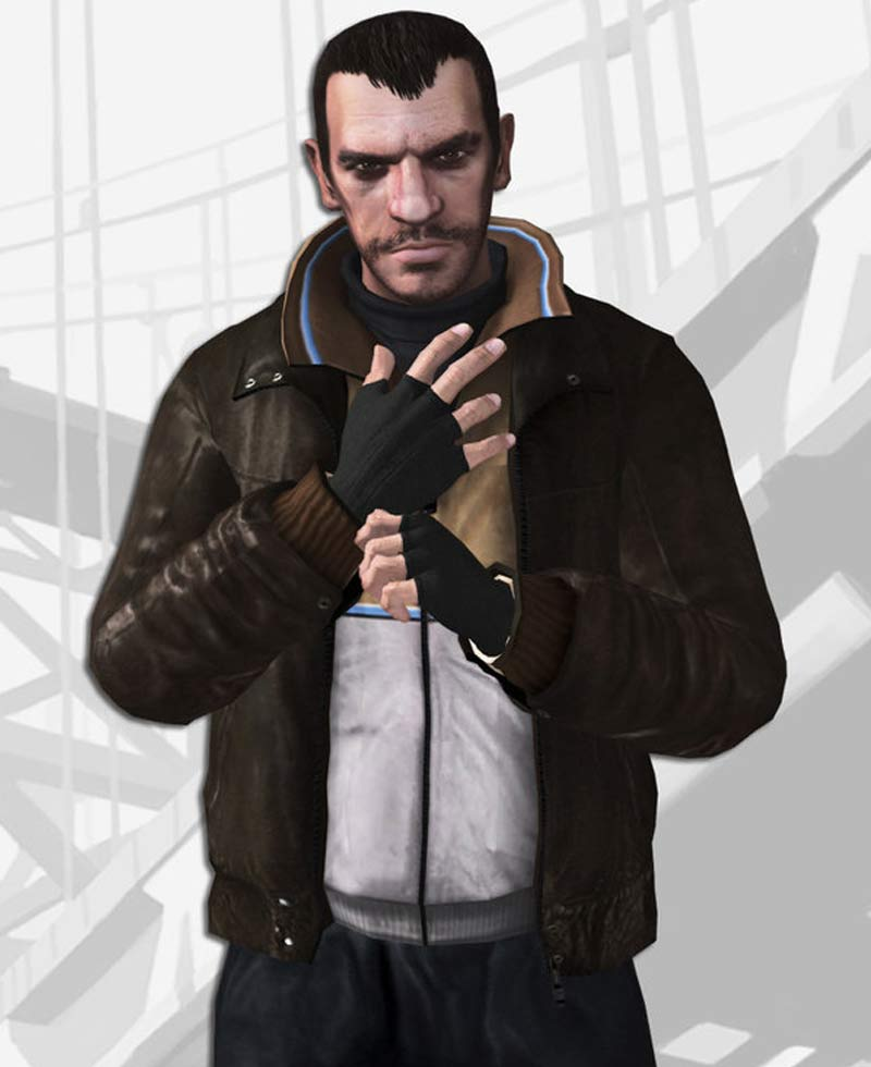 Grand Theft Auto Iv Niko Bellic Jacket Films Jackets