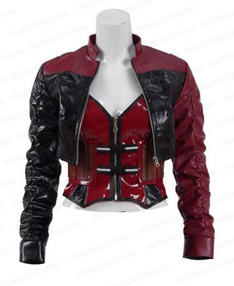 Harley Quinn Leather Jacket - Injustice 2 Jacket - FilmsJackets
