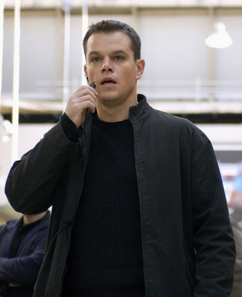 Jason Bourne The Bourne Ultimatum Jacket - Films Jackets