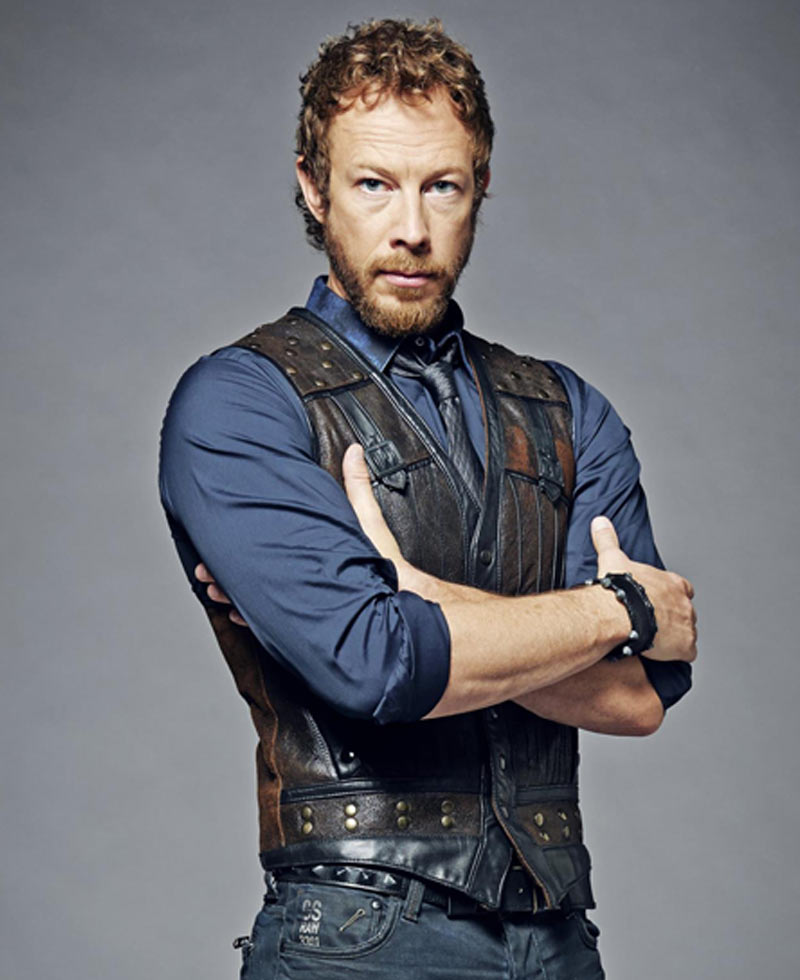 Kris Holden Ried Lost Girl Dyson Vest - Films Jackets Lost Girl Dyson Kidnapped