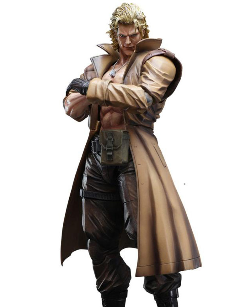 Metal Gear Liquid Snake Coat - Films Jackets