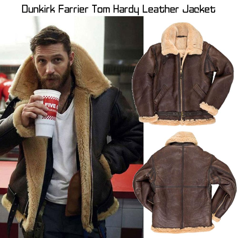 Tom Hardy Dunkirk Farrier Jacket - Films Jackets