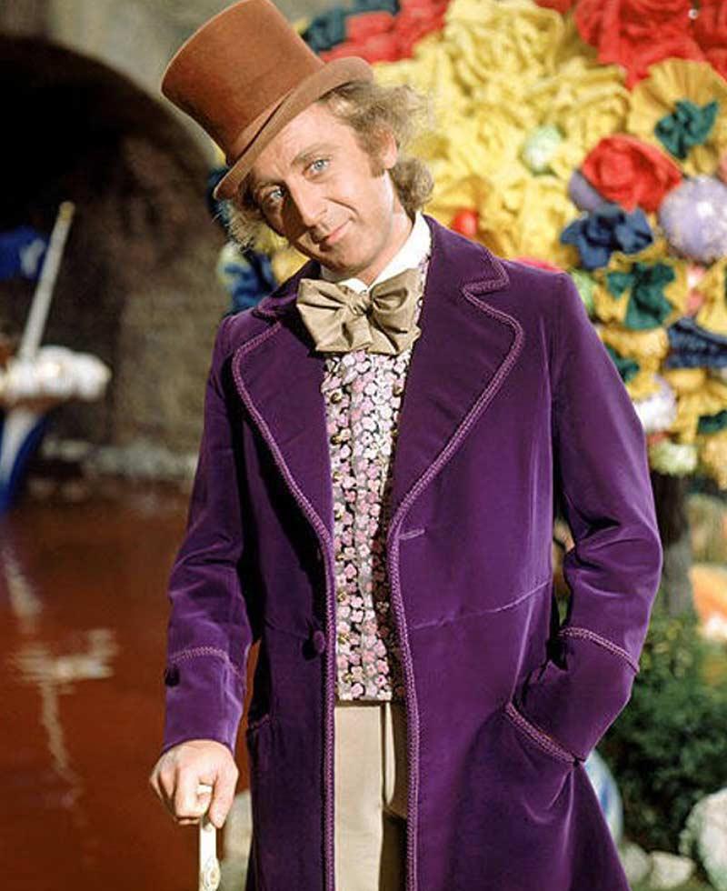 Gene Wilder The Chocolate Factory Willy Wonka Jacket