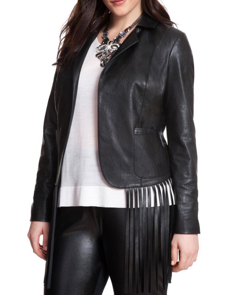 Black Fringe Jacket Photos